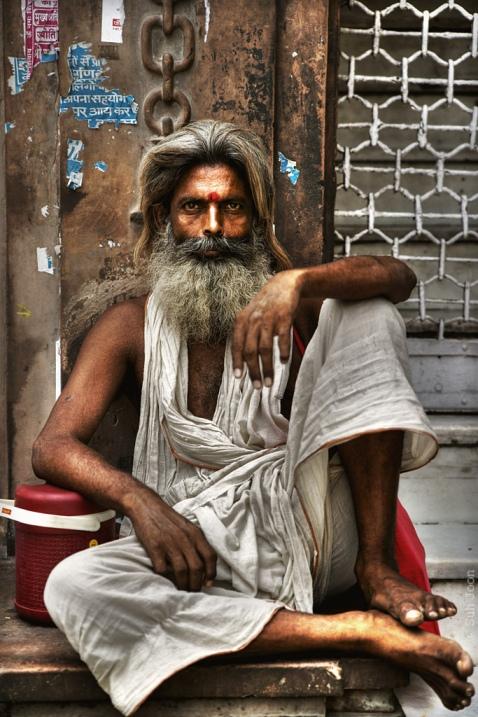 садху-шактист. Фото / Sadhu. Photo