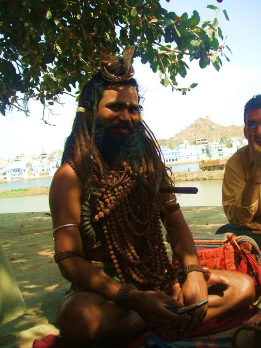 Индийский баба. Фото / Sadhu. Photo