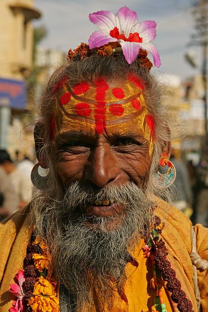 садху из Раджастана (Индия). Фото / Sadhu. Photo