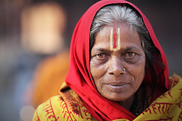 Садхви (женщина-садху). Фото / Sadhvi. Photo