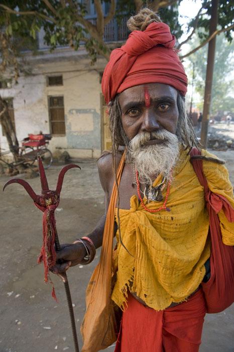 индийский садху. Фото / Sadhu. Photo