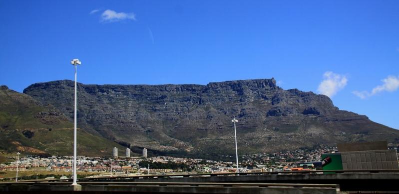 Столовая гора и Кейптаун. Фото / Table Mountain (South Africa). Photo