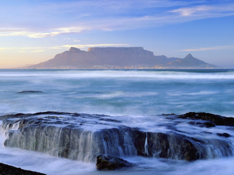 �������� ���� (���). ���� / Table Mountain (South Africa). Photo