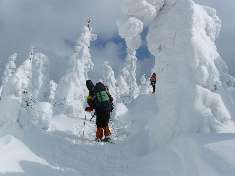Зимний поход на плато Маньпупунер. Фото