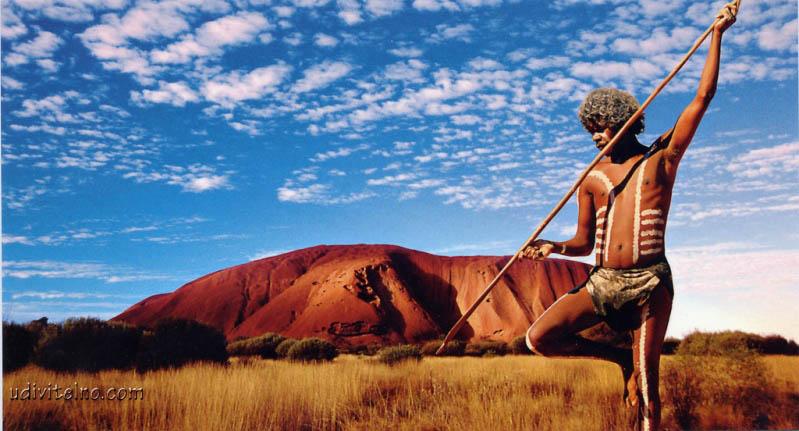 Скала Улуру (Айерс Рок),  Австралия. Фото /Uluru (Ayers Rock), Australia