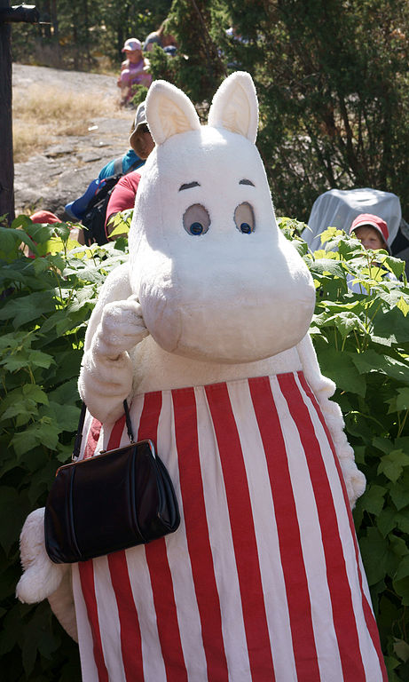 Муми-мама (Страна муми-троллей). Фото / Moomin World. Photo