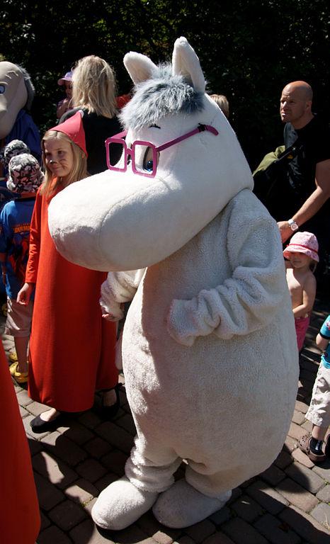 Снорк (Страна муми-троллей). Фото / Moomin World. Photo