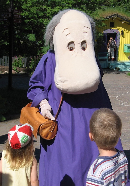 Хемуль (Страна муми-троллей). Фото / Moomin World. Photo