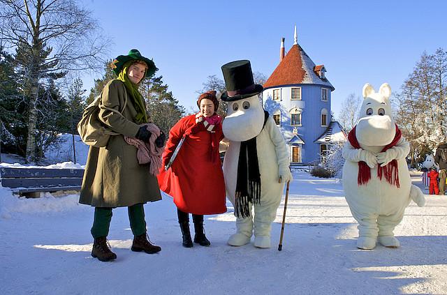 Страна муми-троллей зимой. Фото / Moomin World. Photo