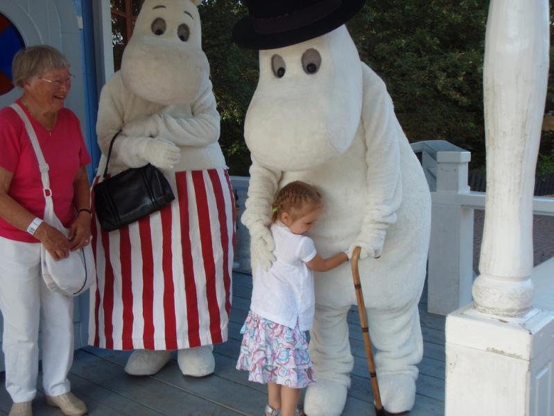 Страна муми-троллей или Муми-парк. Фото / Moomin World. Photo