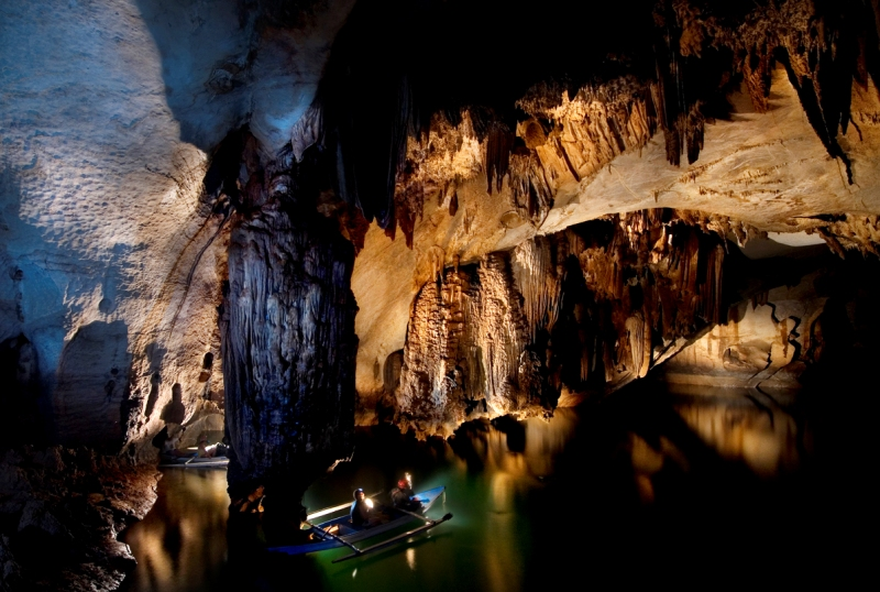 Подземная река Пуэрто-Принсеса (Филиппины). Фото / Puerto Princesa Subterranean River National Park. Photo