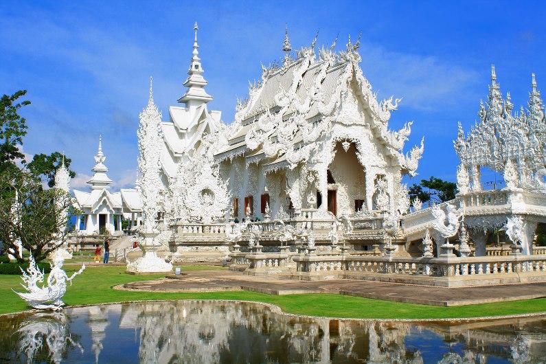 Белый храм Wat Rong Khun