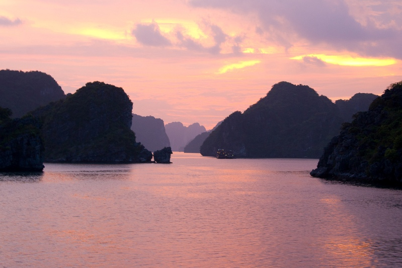 belas fotos de Halong Bay.  Vietnã.  foto