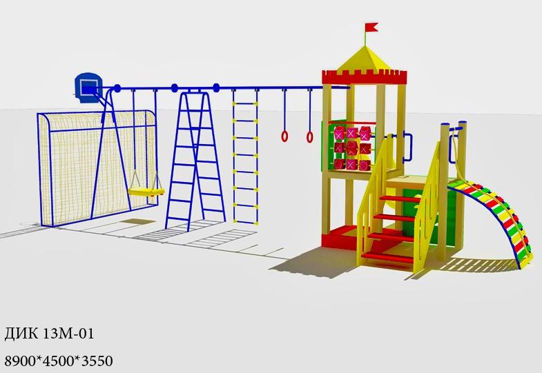 b>Схема детские площадки