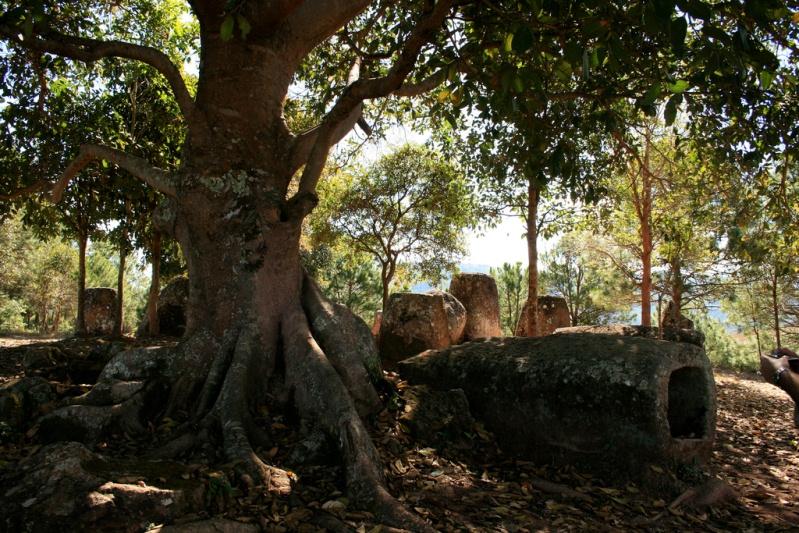 Долина кувшинов в Лаосе. Фото