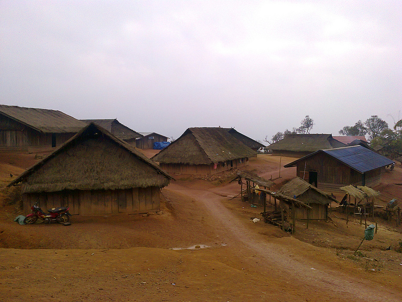 На пути к Долине кувшинов в Лаосе. Фото