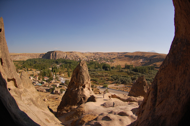 Виды Каппадокии. Турция. Фото