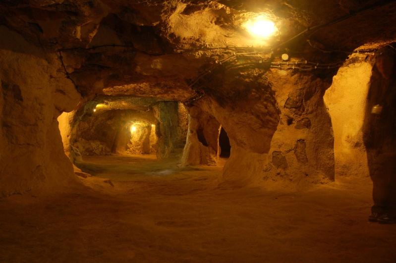 Подземные лабиринты Деринкую в Каппадокии. Турция. Фото