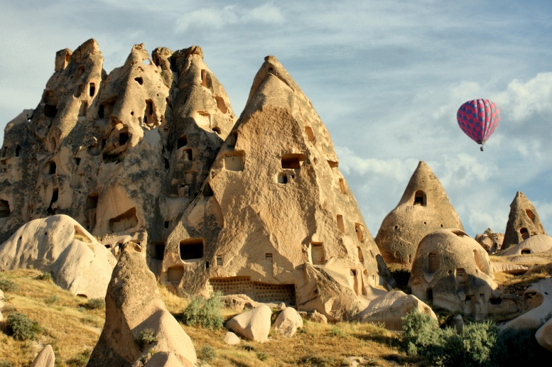 Скалы Каппадокии. Турция. Фото