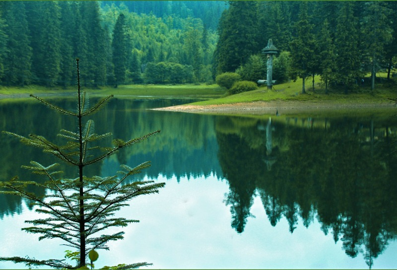 Синевир - самое большое и красивое озеро украинских Карпат. Фото