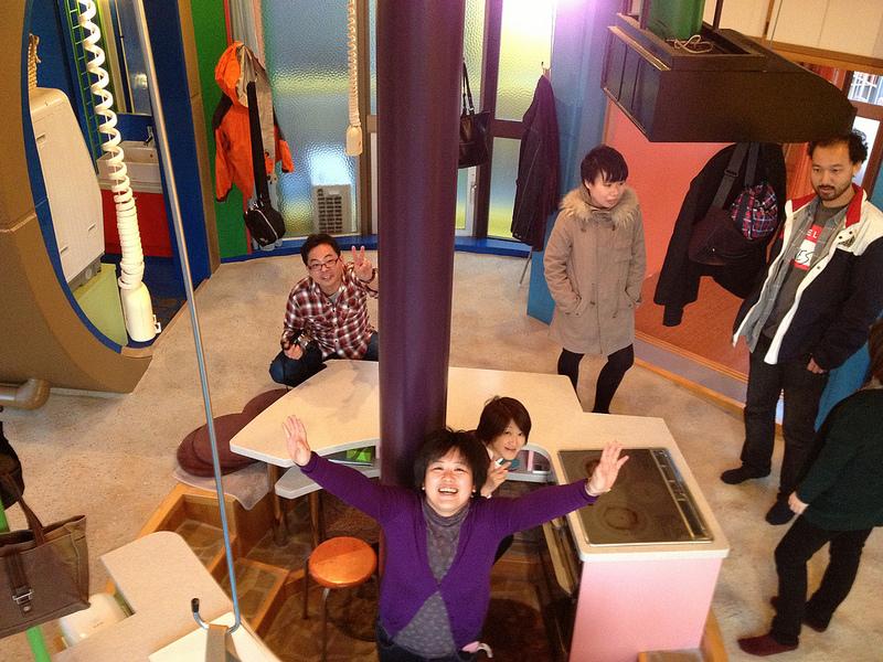 Жилой комплекс Обратимости судьбы от Сусаку Аракавы. Митака, Япония. Фото