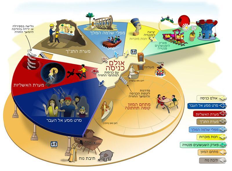 Город королей в Эйлате (Израиль) карта