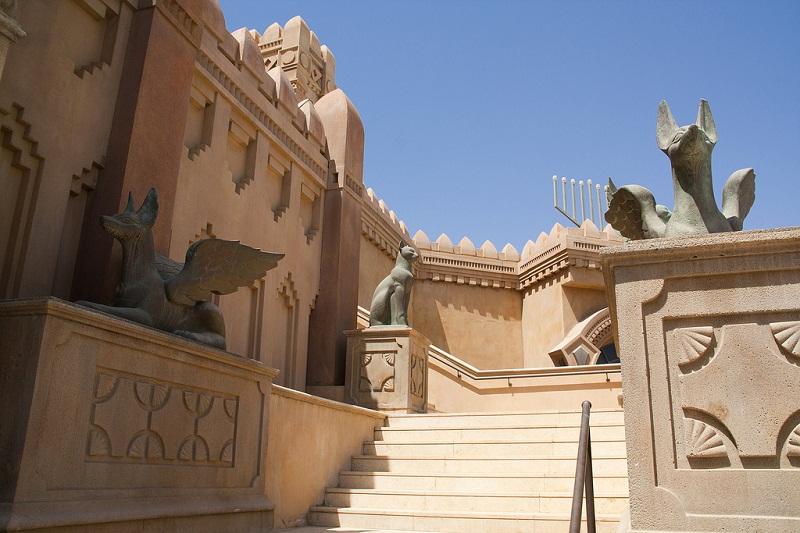 Город царей / Kings City в Эйлате (Израиль) фото