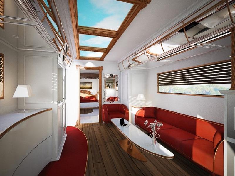 Самый дорогой дом на колесах от Луиджи Колани. Фото