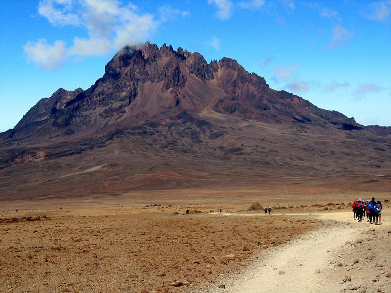 Гора Килиманджаро. Танзания. Африка. Фото