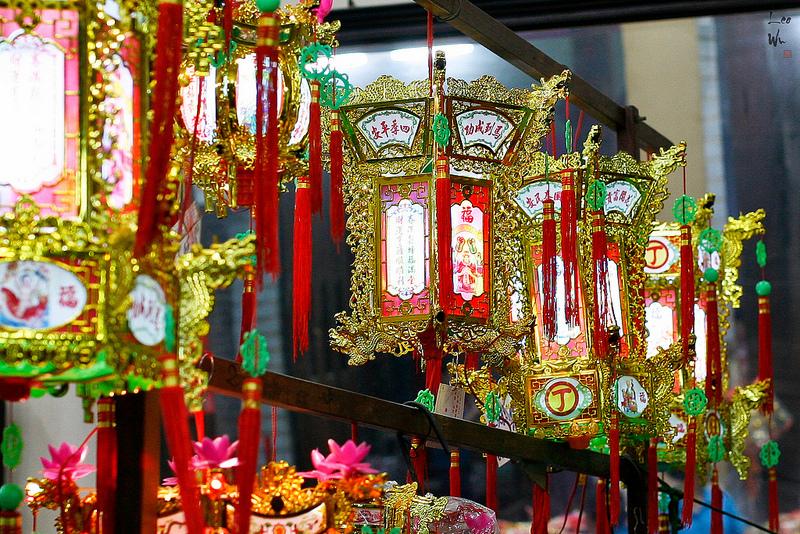 Красивые фонари. Праздник Юаньсяоцзе в Китае. Фото