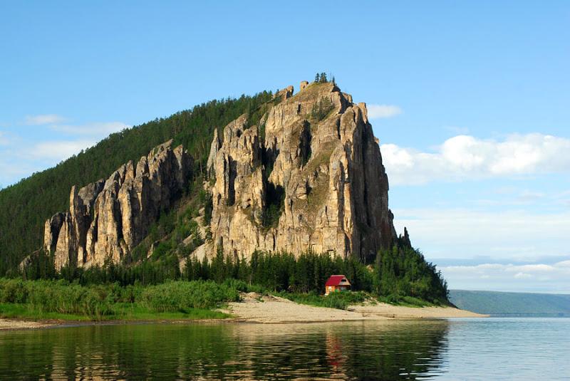 Ленские столбы. Якутия. Россия. фото