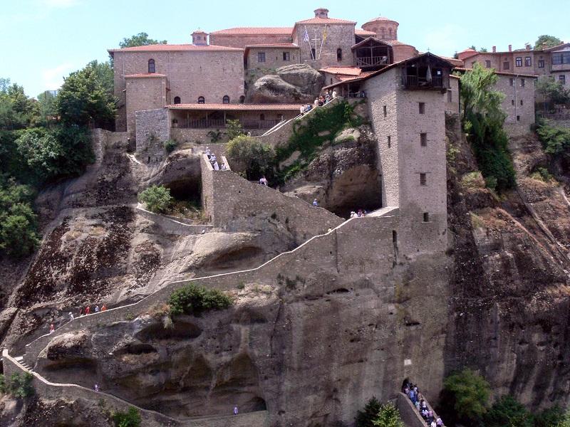 Монастыри Метеоры. Греция. Фото