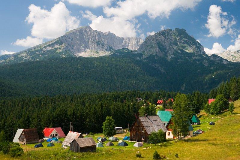 Национальный парк Дурмитор в Черногории. Фото