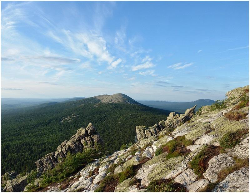 Вид на Круглицу. Национальный парк Таганай. Урал. Фото