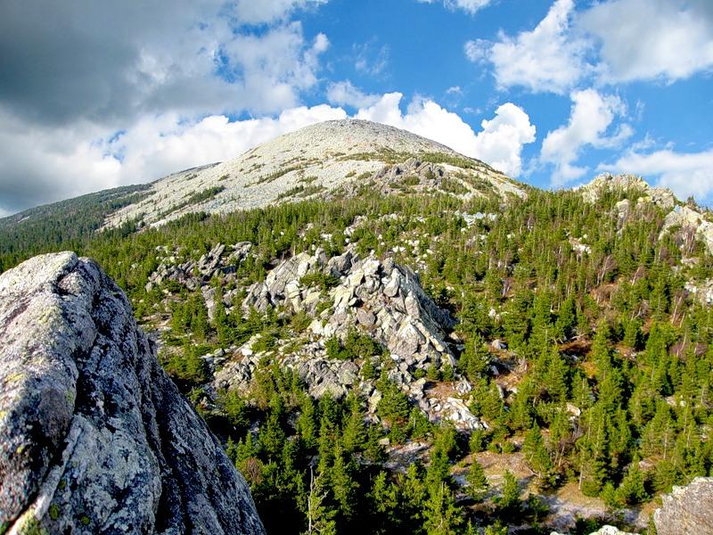 Гора Круглица. Национальный парк Таганай. Урал. Фото