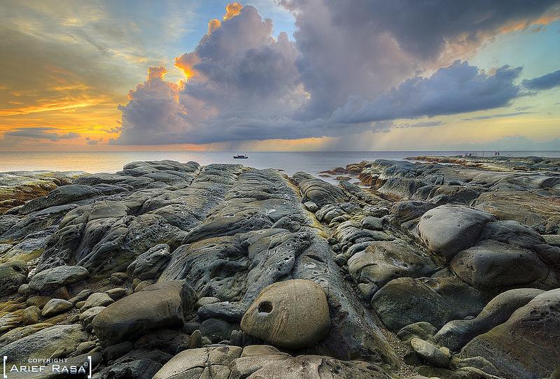 Оконечность острова Борнео. Фото