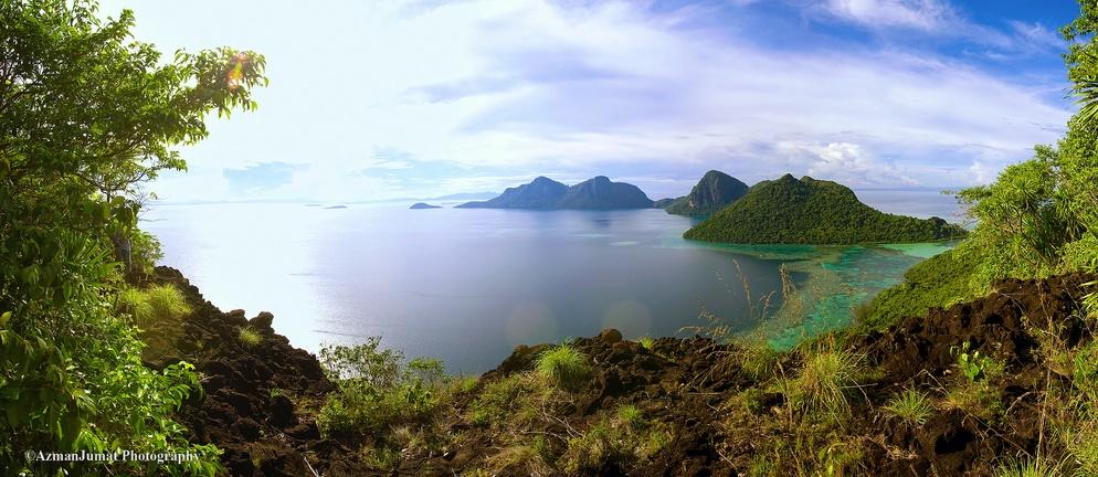 Северная часть Борнео. Фото