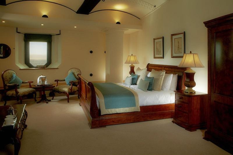 Номера в отеле-форте Спитбанк в Англии. Фото
