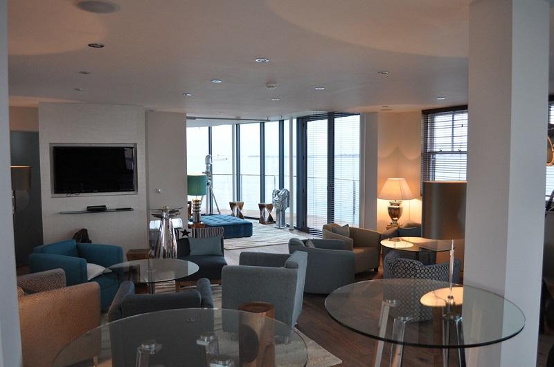 Самые дорогие номера. Отель-форт Спитбанк в Англии. Фото
