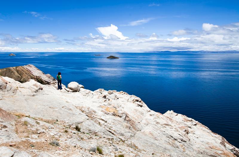Озере Титикака. Южная Америка. Фото