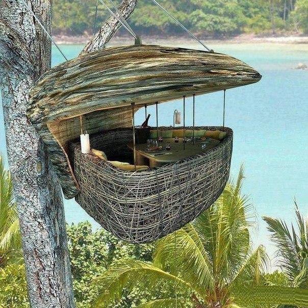 Рестоарн Птичье гнездо на острове Ко Куд. Фото