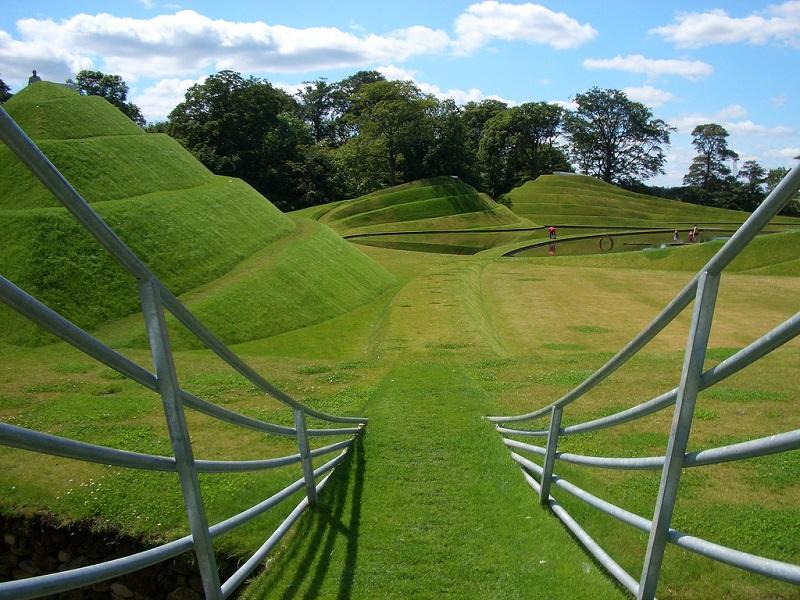 Сад-Вселенная Чарльза Дженкса. Шотландия
