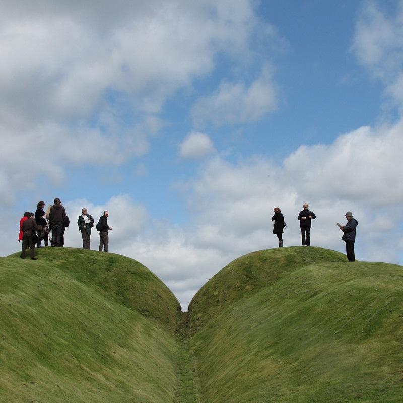 Сад-Вселенная Чарльза Дженкса. Шотландия. Фото