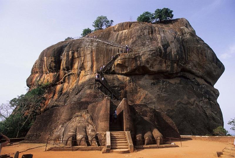 Крепость-дворец Сигирия Шри-Ланка