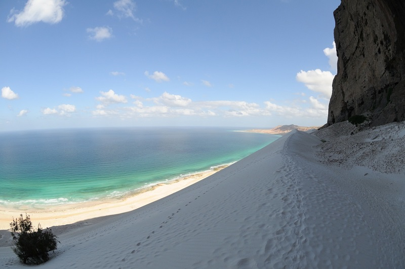 Удивительный остров Сокотра. Йемен. Фото
