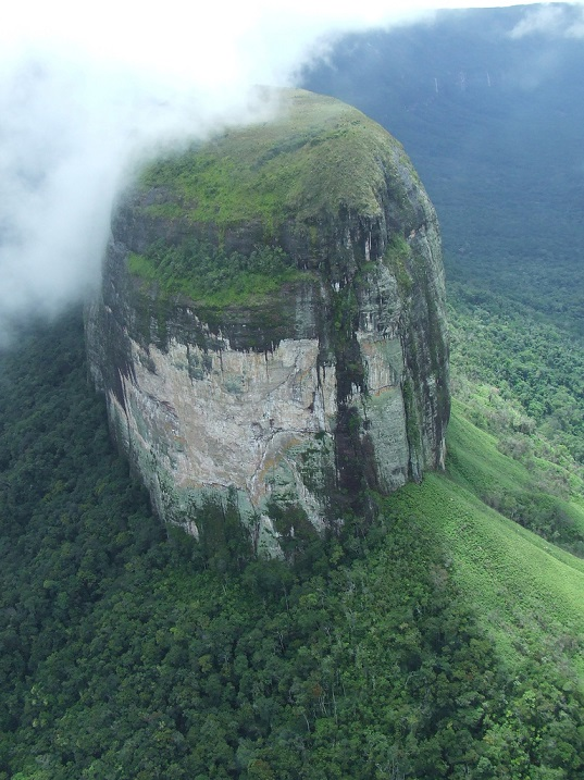 Столовые горы (тепуи) в Венесуэле. Фото