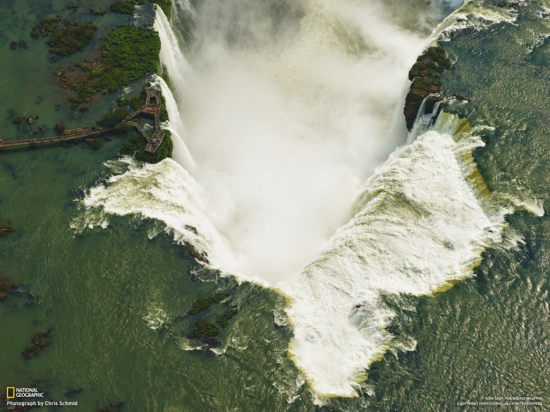 Водопад Горло дьявола. Водопады Игуасу в Бразилии и Аргентине
