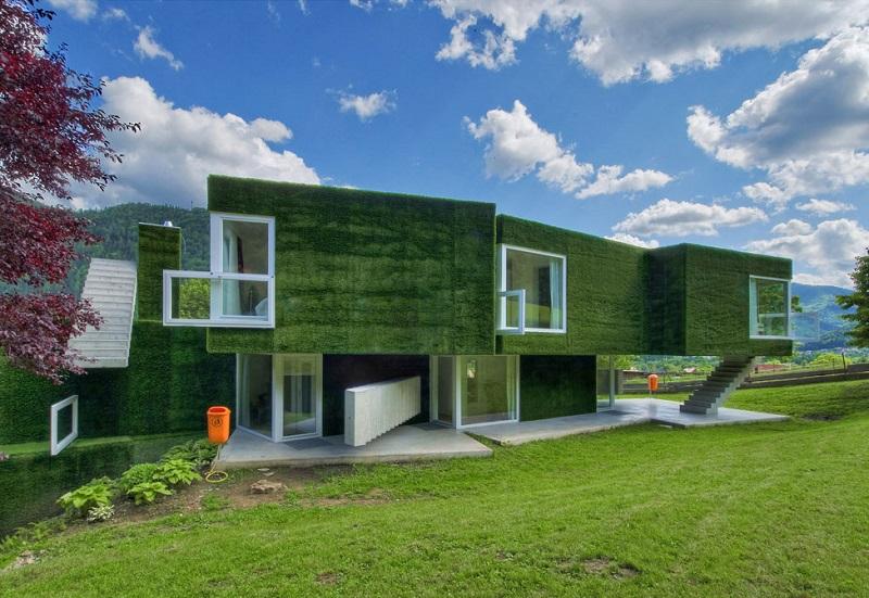 Дом в Австрии от дизайнеров Ортис и Вайхлбауер