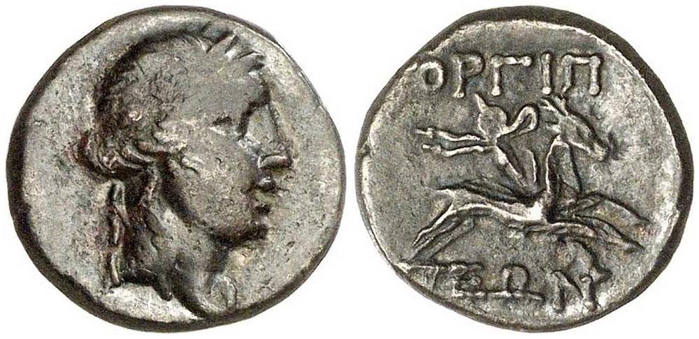 Монета из Горгиппии