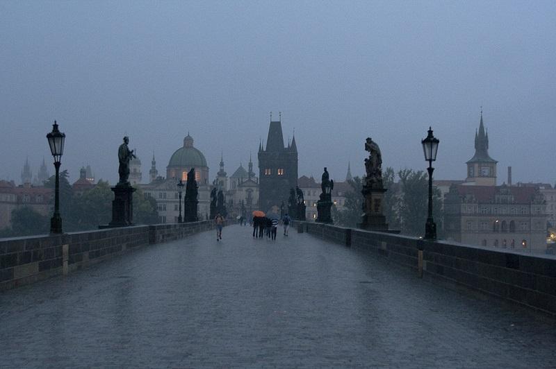 Карлов мост. Прага. Чехия. Красивые фото